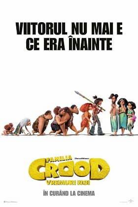 Familia Crood 2: Vremuri noi (2020) dublat in romana